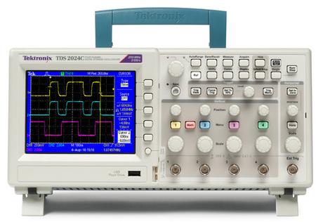 泰克TDS2000C系列数字存储示波器