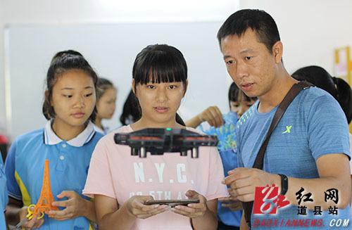 """道县:科技""""创客""""炫动校园"""