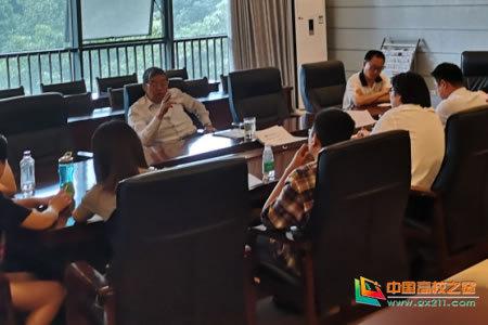 成都师范学院陈宁校长调研指导2019年新办专业建设和人才培养工作
