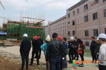 怀化学院东区第13、14栋学生宿舍楼建设项目通过基础验收