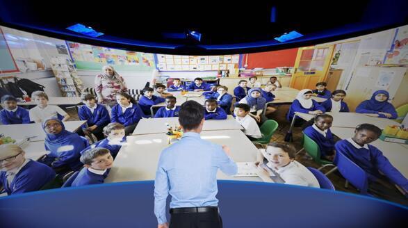联想发布未来教室方案:融合AR/VR、AI、边缘计算、5G等多项技术