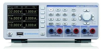 德國品牌羅德與施瓦茨HMC8040系列電源,體積緊湊,易于使用