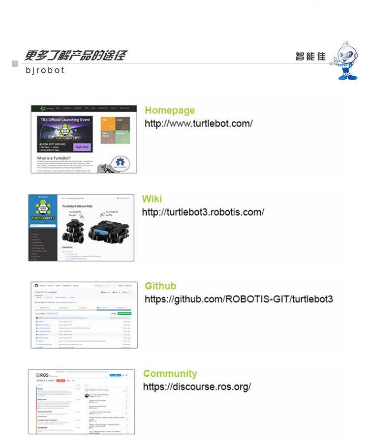 智能佳Turtlebot3 Waffle ROS移动华夫式平铺平台 开源软件硬件