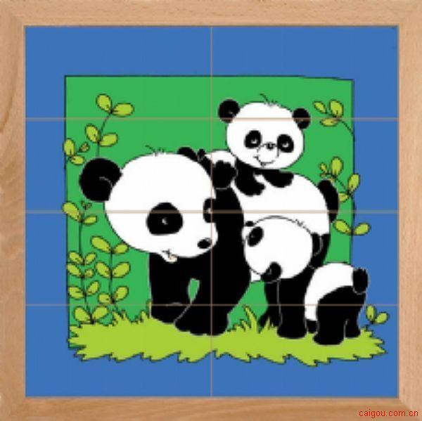 动物母子亲情系列-猫熊