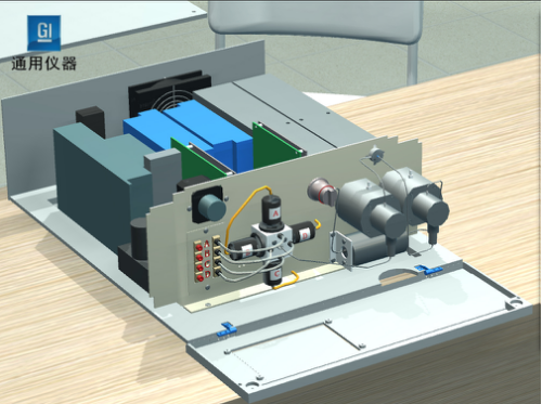 深圳通用GI-3000液相色谱互动教学实训系统