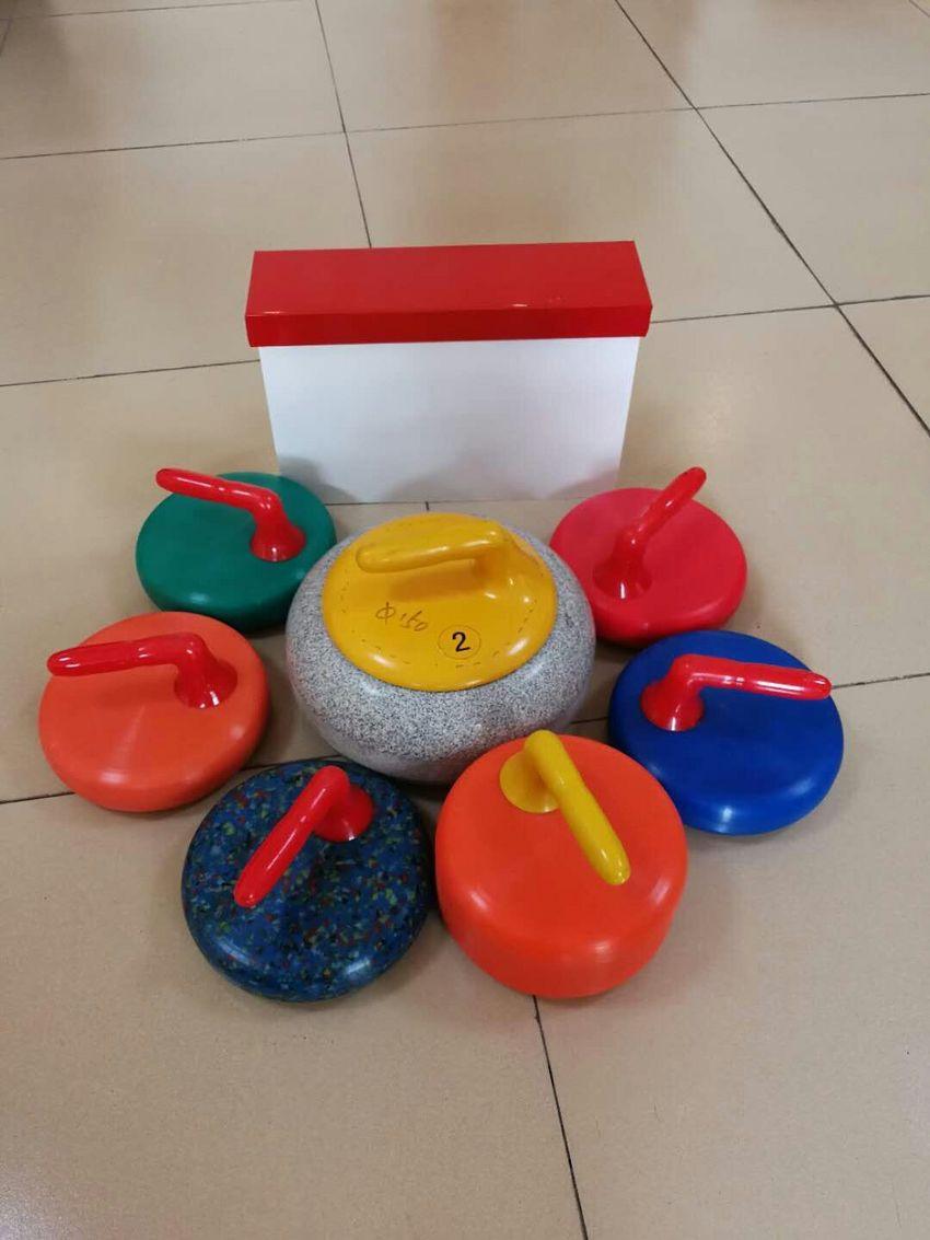 模拟仿真冰壶球训练教具|工厂直售冰壶|冰雪进校园优惠