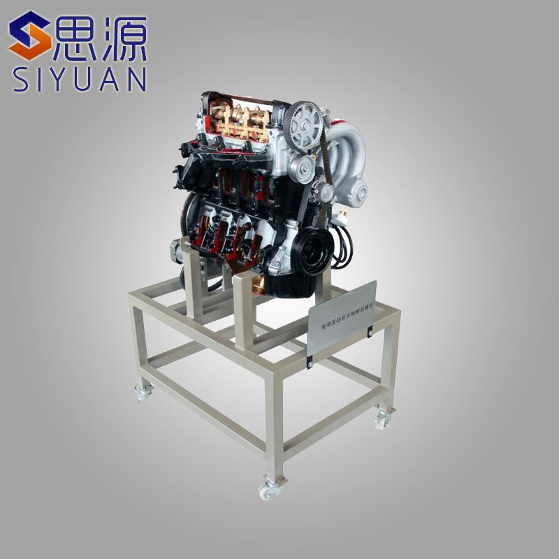 汽车大众桑塔纳ajr电控汽油发动机解剖模型演示实训台