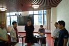 华文众合数字书法教室湖南展出 教育领导观摩体验