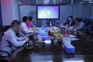 清华同方智慧城市事业部夏宗春总经理一行来访立人科技