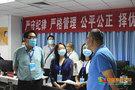 河南工学院领导检查指导招生录取工作