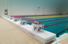 太原师范学院体育馆配备装配式游泳池
