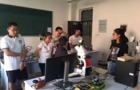 北京中显携显微镜参加河南理工大应用推广活动