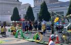 班莊中心幼兒園迎接省課程游戲化建設市級視導