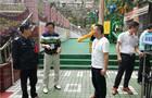 雨城区教育局对雨城三幼进行校园安全及食品卫生安全检查