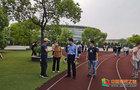 中国计量大学领导检查复学后体育教学工作