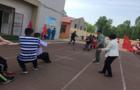 高新區南郭而小學開展體育節活動