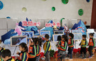 张家口市图书馆青少年冰雪主题影像展走进市第二幼儿园