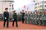 通化师范学院举行2021级新生军训汇报表演大会暨开学典礼