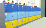 厂家全国供应好柜子牌HGZ-310M型ABS塑料环保学生书包柜大中小学教室书包柜