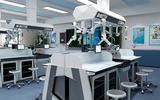 天智厂家直销整套中学智能化学实验室设备理化生实验台课桌椅