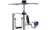 舒华品牌  智能室外健身路径  SH-O9102ZD漫步机健身车组合器