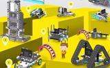 小学创客实验室建设方案 创客仪器 可编程电子积木
