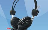 EDT-9506電腦耳機,語音室耳機,網吧耳機