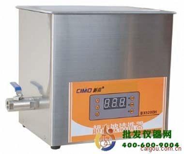 台式数控超声波清洗器采用国际最先进的集成电路晶体管处理