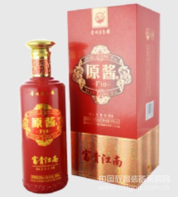 富貴江南酒醬香型白酒團圓聚會原醬F10酒