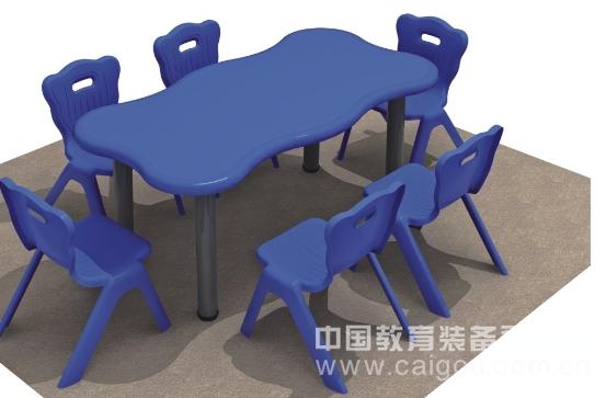 人体工程波浪桌