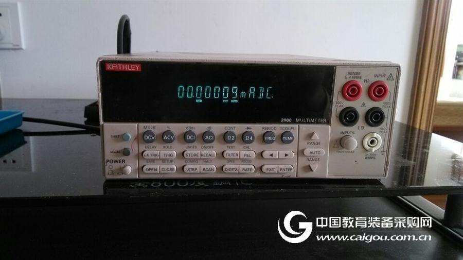 底價出貨一臺吉時利K2000數字萬用表一臺