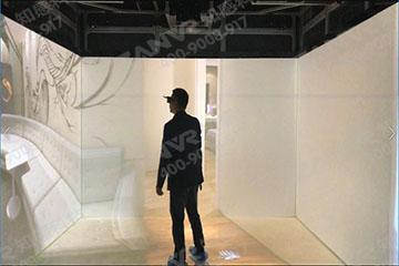 CAVE沉浸式虛擬現實顯示系統