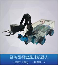 經濟型機械臂小車,視覺系統自動跟蹤,搬運