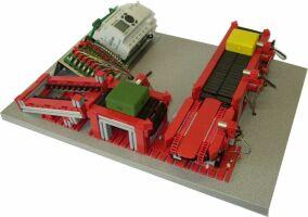 慧鱼工业模型-可翻转传输带,旋转台和滑台