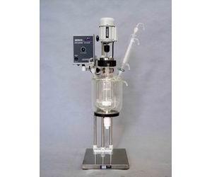 迷你实验型1L2L3L5L双层玻璃反应釜