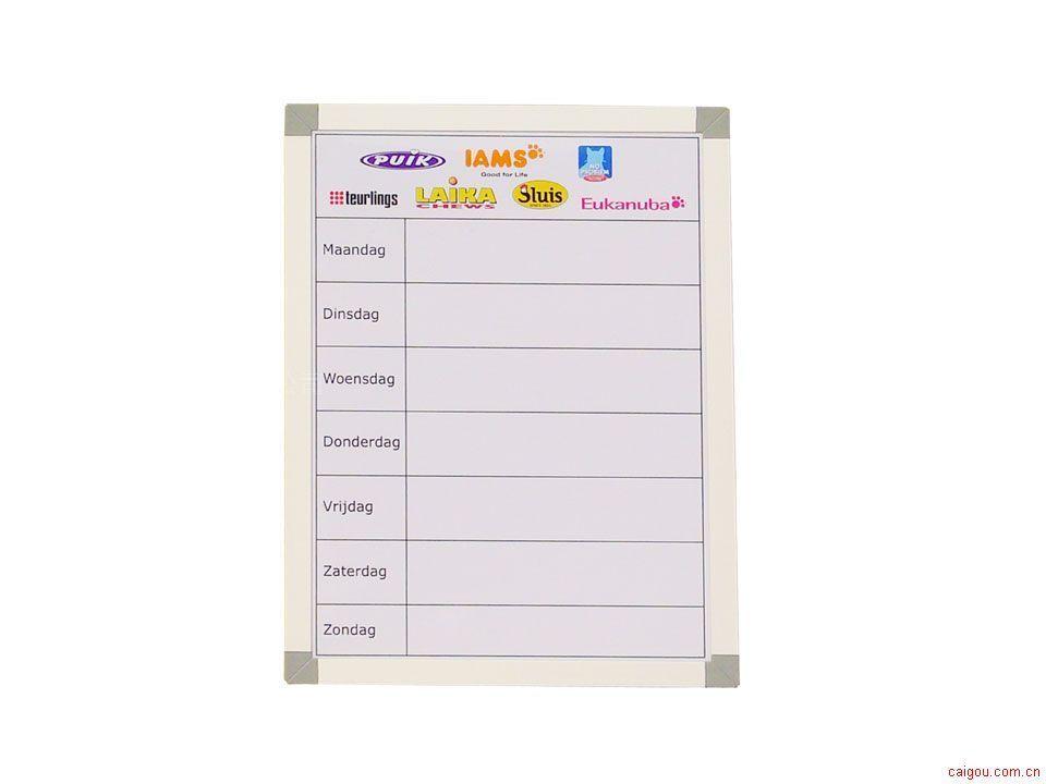 铝边框广告白板 (FW03P)