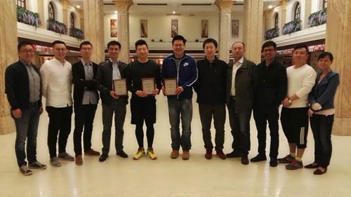 东方集成荣获是德科技2015年度多项大奖