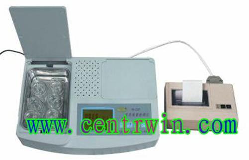 食品安全综合速测仪/果蔬农残仪(重金属,农药残留,亚硝酸盐等) 型号:NDL2-YNCLVI