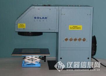 体外SPF测试PMMA 板预辐照光源
