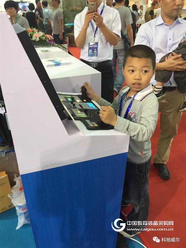科旭威尔亮相第72届中国教育装备展
